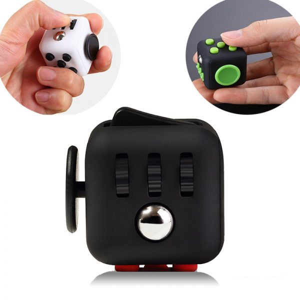 2021 New EDC Hand For Autism ADHD Anxiety Relief Focus Children 6 Sides Anti Stress Magic 1 - Cube Fidget