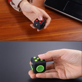 2021 New EDC Hand For Autism ADHD Anxiety Relief Focus Children 6 Sides Anti Stress Magic 3 - Cube Fidget