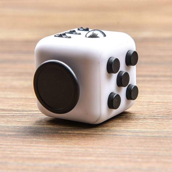 2021 New EDC Hand For Autism ADHD Anxiety Relief Focus Children 6 Sides Anti Stress Magic 5 - Cube Fidget