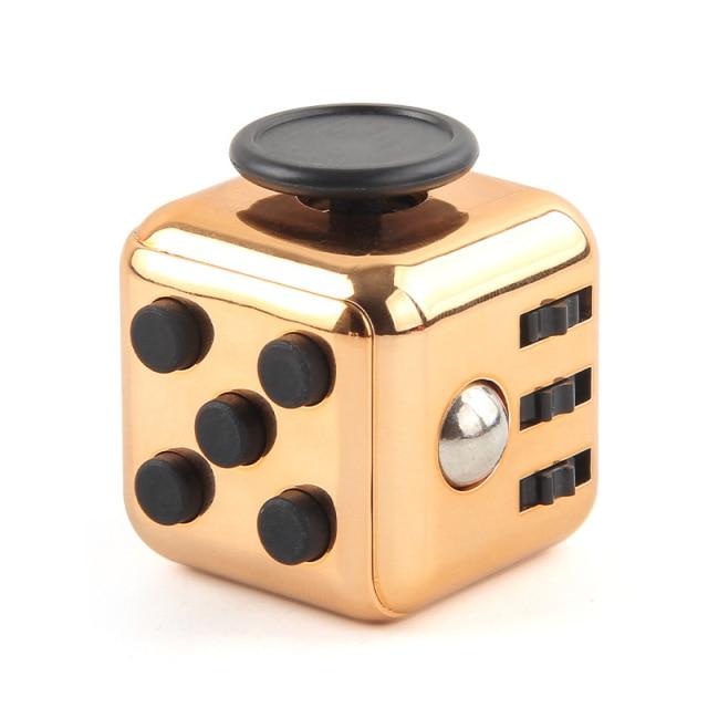 Bronze Fidget Cube Anti Stress Toys