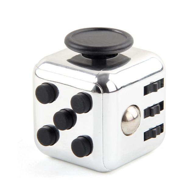 White Fidget Cube Anti Stress Toys
