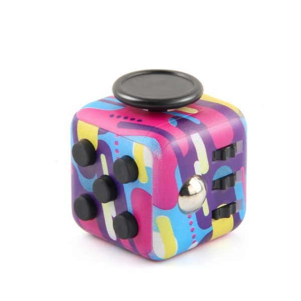 Decompression Dice Hand For Autism ADHD Anxiety Relief Focus Kids Stress Relief Cube Anti stress Toys 15.jpg 640x640 15 - Cube Fidget