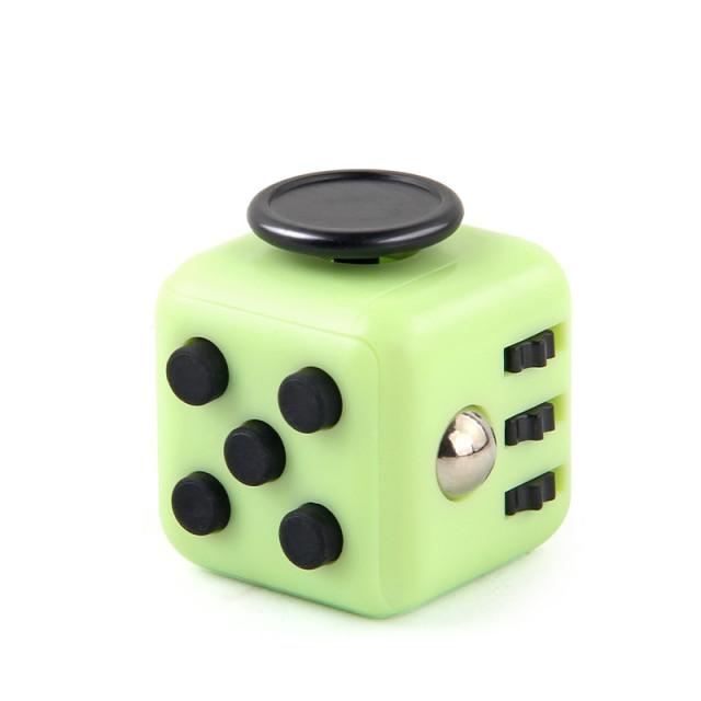 Green Fidget Cube Anti Stress Toys