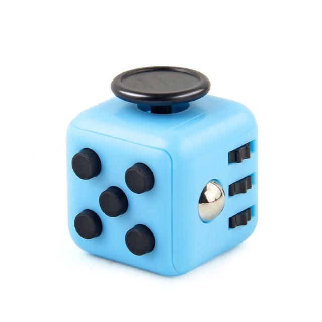 Blue Fidget Cube Anti Stress Toys