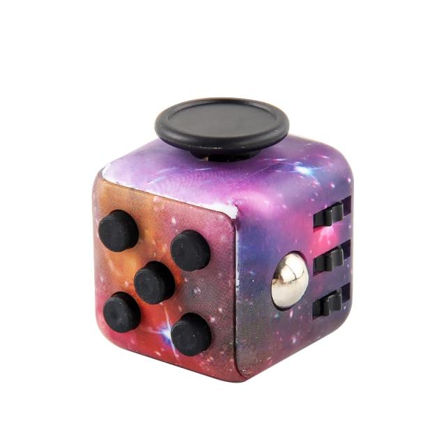 Galaxy Fidget Cube Anti Stress Toys