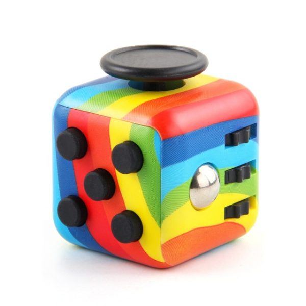 Decompression Dice Hand For Autism ADHD Anxiety Relief Focus Kids Stress Relief Cube Anti stress - Cube Fidget