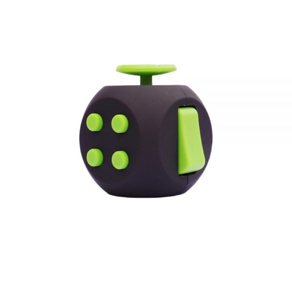 EDC Hand For Autism ADHD Anxiety Relief Focus Kids 6 Sides Magic Anti Stress Cube Spinner 1 - Cube Fidget