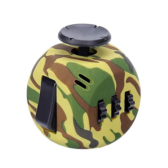 Cam Green 6 Sides Cube Fidget Anti Stress Toy