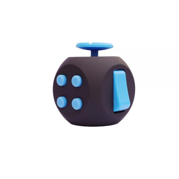 EDC Hand For Autism ADHD Anxiety Relief Focus Kids 6 Sides Magic Anti Stress Cube Spinner - Cube Fidget